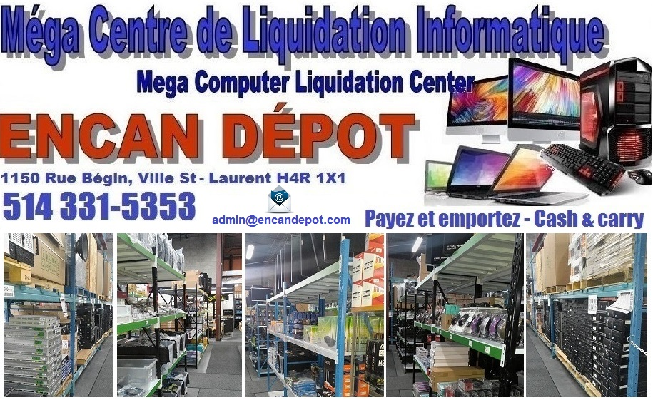 Encan Depot | PC Laptop Liquidation